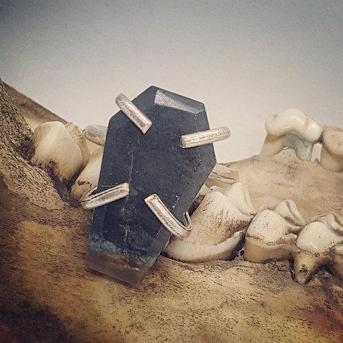 Adjustable Picasso Jasper Coffin Ring