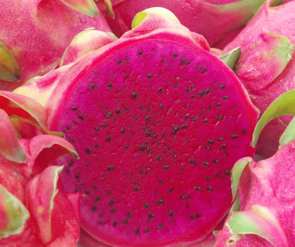 Red Dragon Fruit Pink Pitaya Strawberry Pear