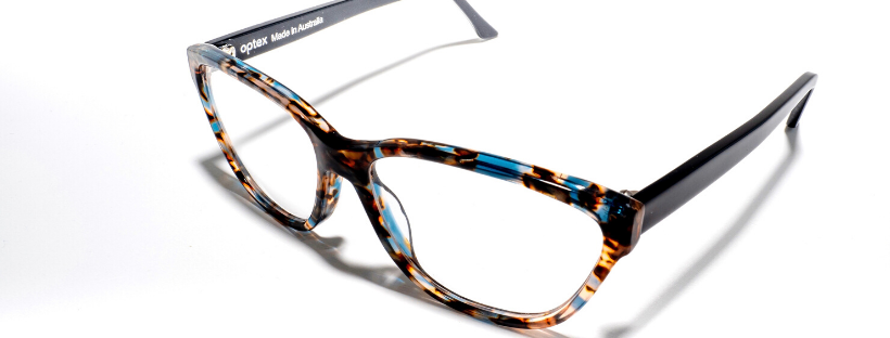 Optex can also customise spectacle frames