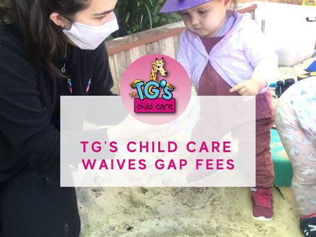 TG's Child Care Waives Gap Fees