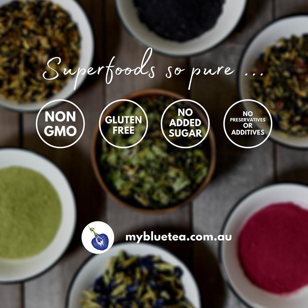 Superfood | Butterfly Pea Powder | Pandan