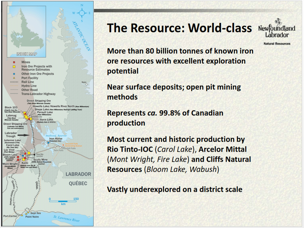 A world-class region. (source Canada Natural Resource)