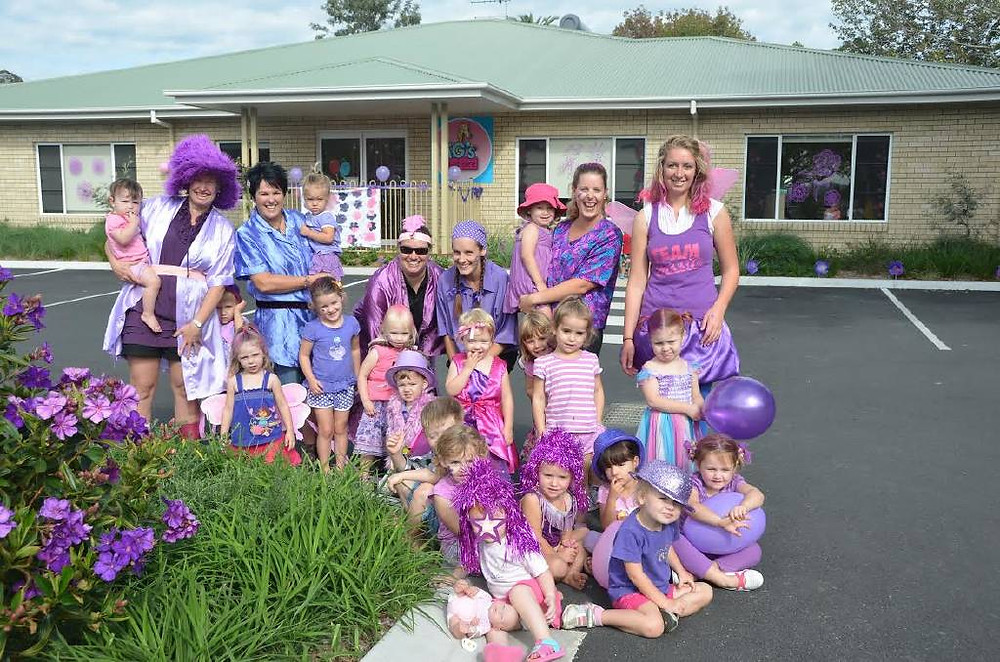 TG's Child Care participates in the Wauchope Lasiandra Festival every year.