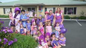 TG's Child Care Goes Purple in March Lasiandra Festival