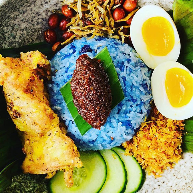 Cinta Nasi Lemak with Blue Rice_Nora Har