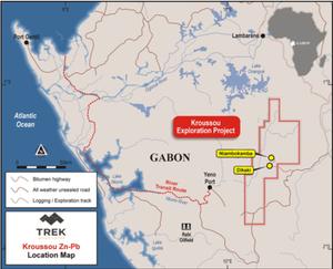 Trek Metals Limited project location. (source:  Trek Metals Limited)