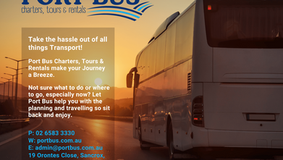 Making the Journey a Breeze with Port Bus Charters, Tours & Rentals