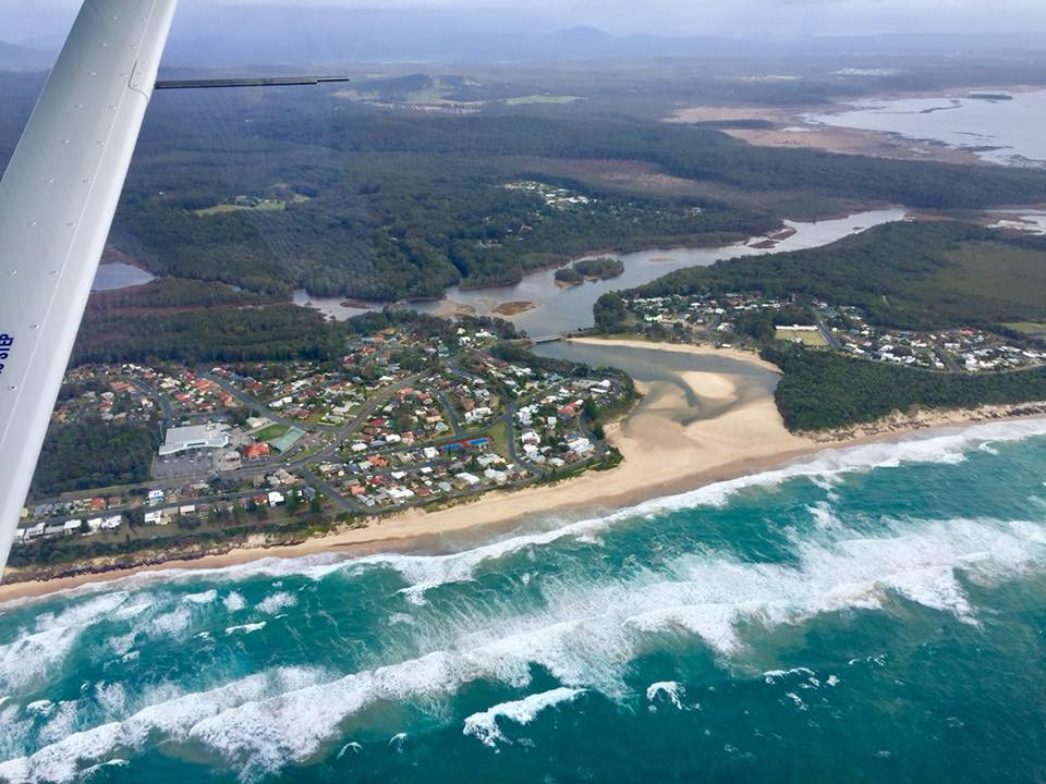 Book a Discovery Flight over Port Macquarie with HDFC