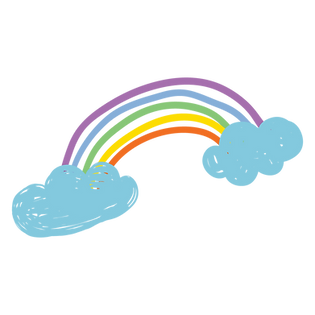 Rainbow and clouds - TG_s Child Care Pla
