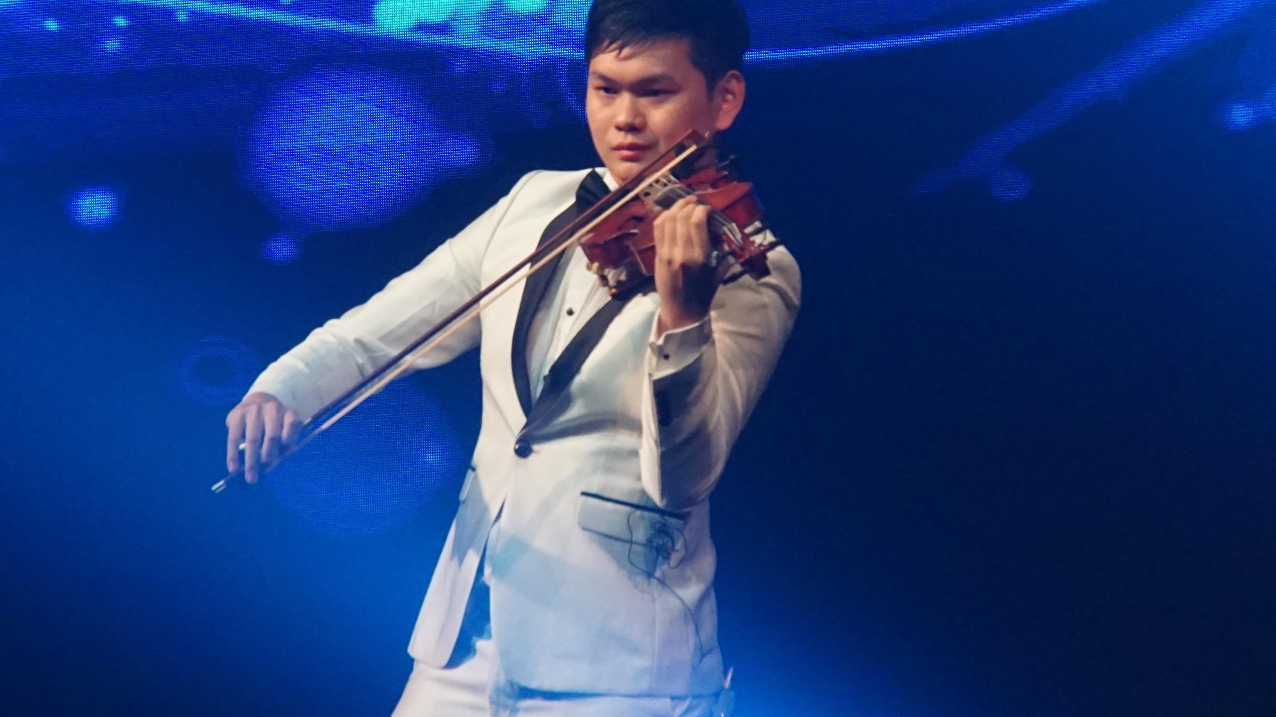 Violinist Julian Lee