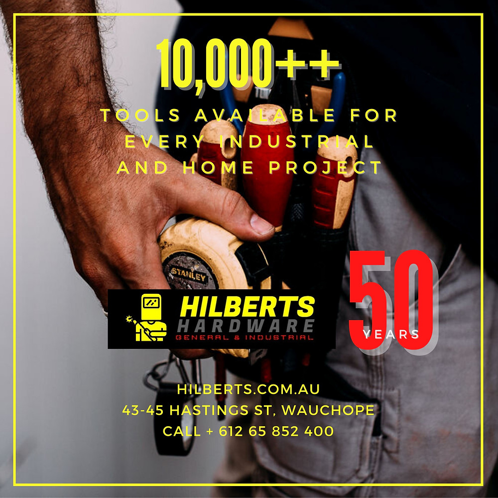 Hilberts Hardware in Wauchope is celebrating 50 years, featured on Brilliant Online Magazine