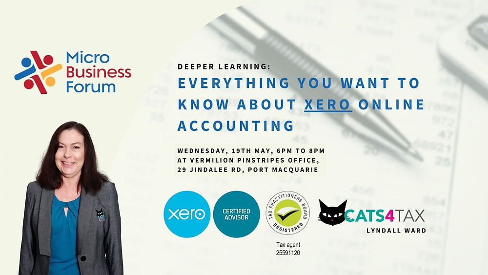 MBF Deeper Learning on Xero Essentials by Lyndall Ward, CATS4TAX