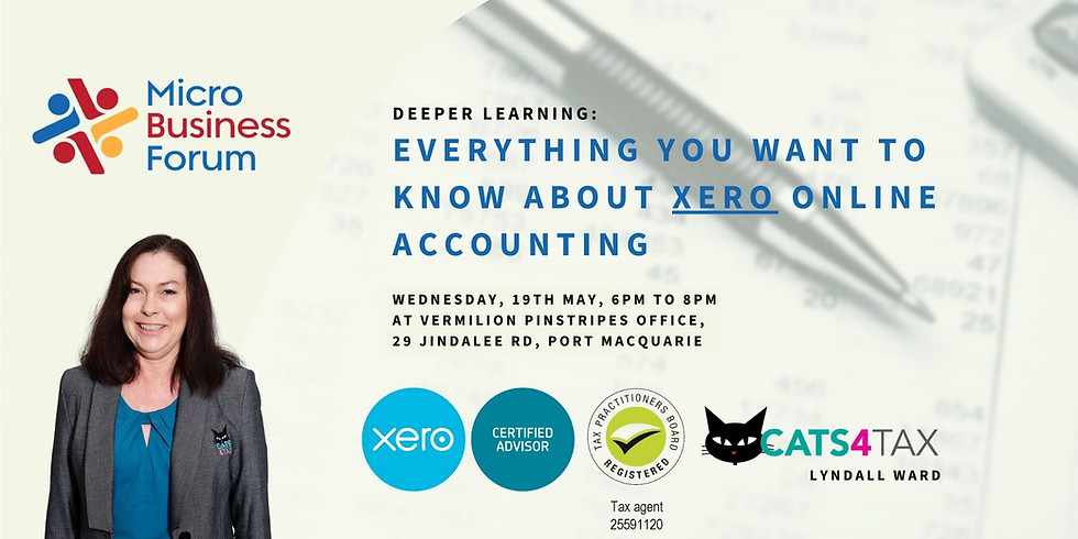 Everything you want to know about XERO. MBF Deeper Learning.