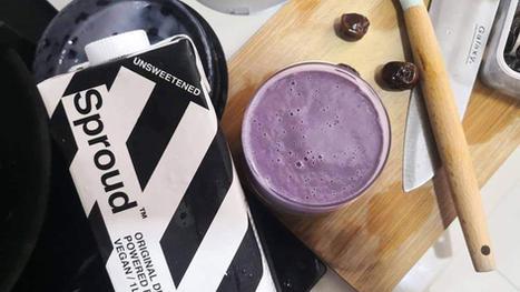Purple Sweet Potato Smoothie