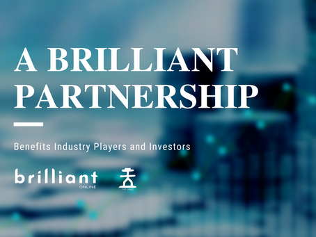Brilliant Partnership Benefits Industry Players and Investors