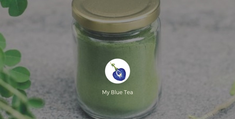 Pandan Kaya (coconut jam) made from Freeze-dried Pandan Powder | My Blue Tea