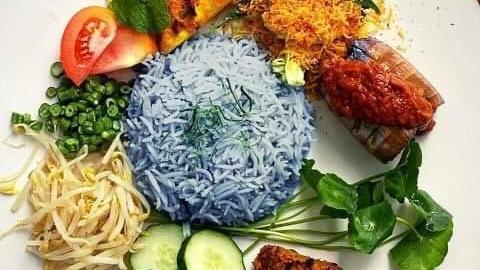 Vegan Nasi Kerabu