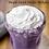 Purple Sweet Potato frappe recipe from My Blue Tea