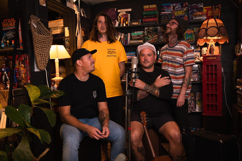 Scuffs the latest band to record a Dark Alley Session, featured on Brilliant-Online Magazine