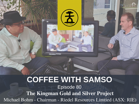 The Kingman Gold and Silver Project - Riedel Resources Limited (ASX:RIE)