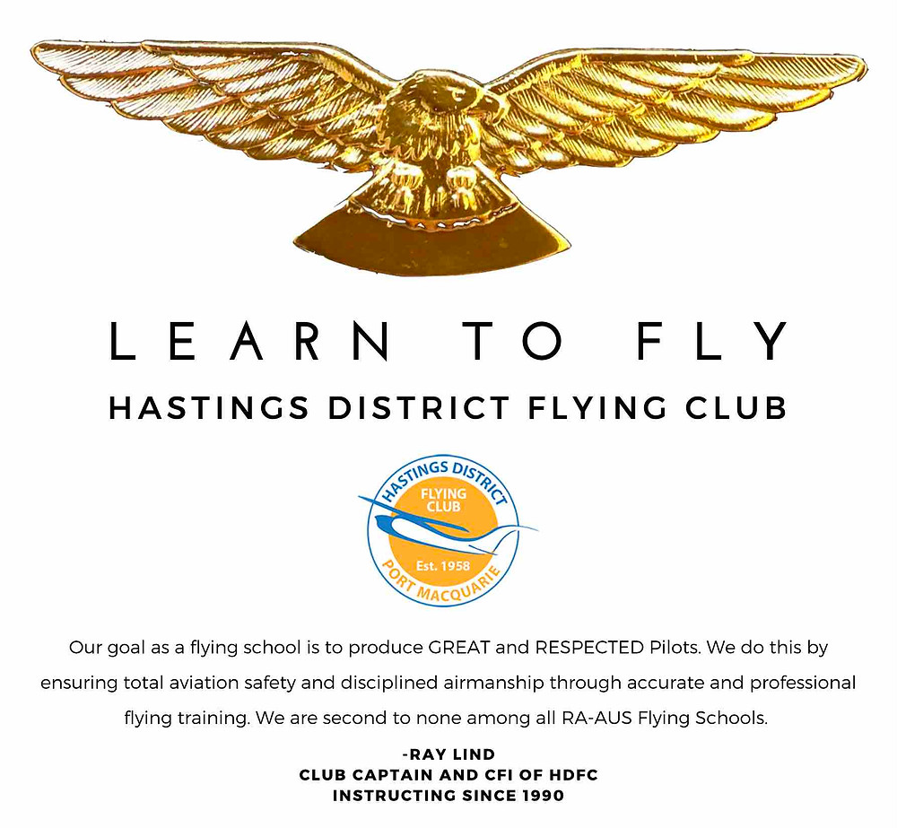 Learn to fly with HDFC in Port Macquarie