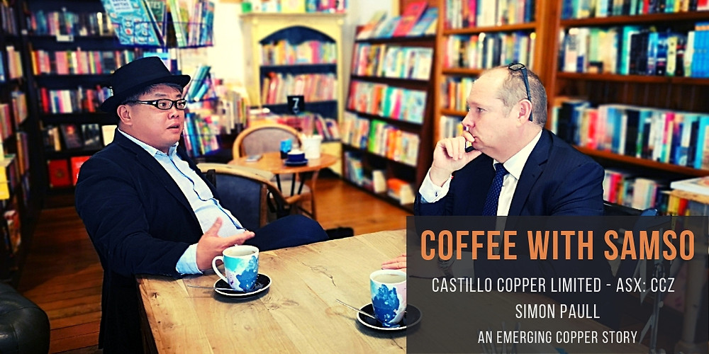 Coffee with Samso Episode 22, Castillo Copper Limited
