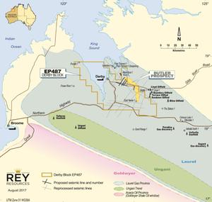Butler Project Location Plan. (source: Doriemus PLC)