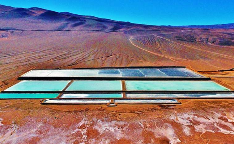 Argosy Minerals Limited evaporation ponds (source: ProactiveInvestors)