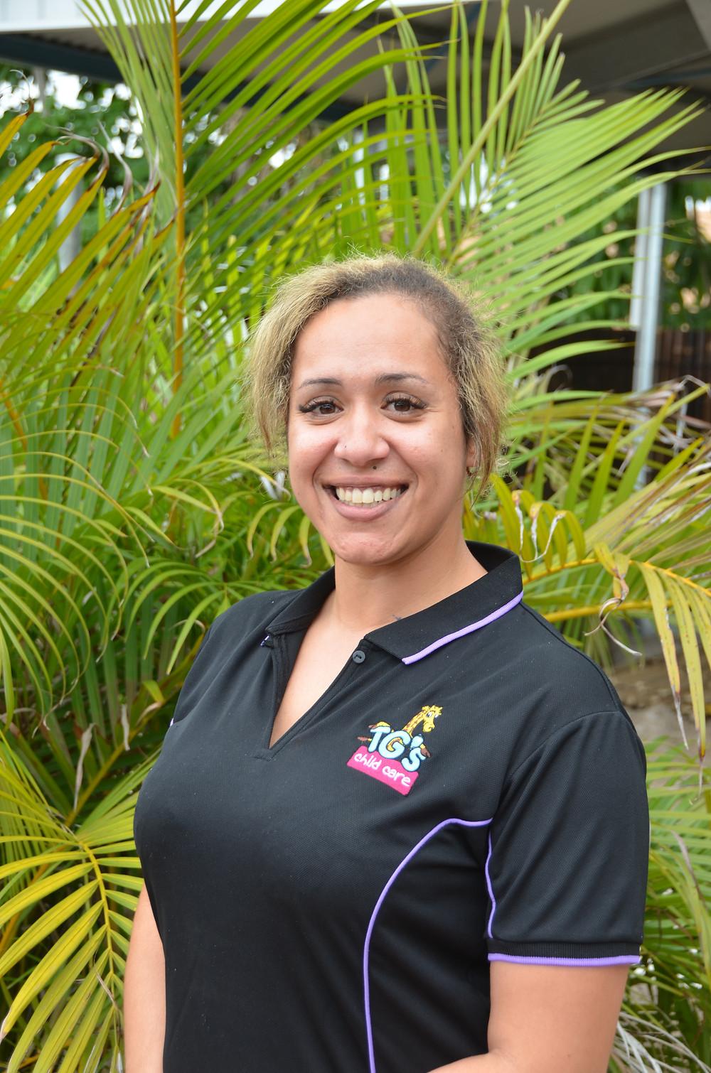 Alicia Moody - TG´s Child Care Urangan new Centre Manager