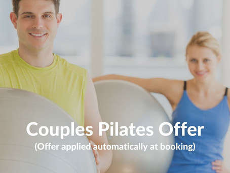 Pair up for pilates!