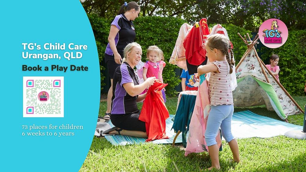 Book a Play Date at TG's Child Care Urangan