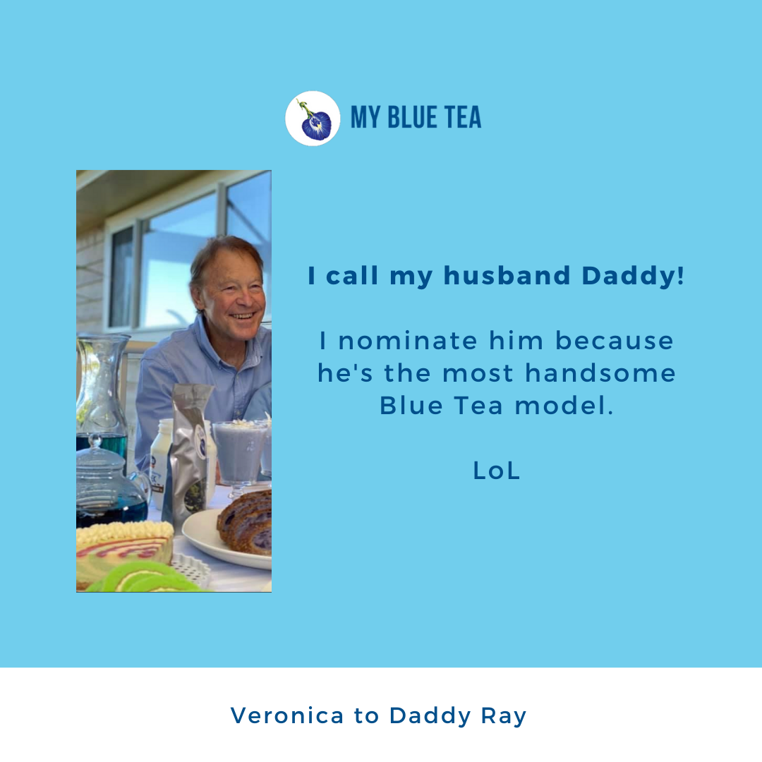 My Blue Tea Father's Day Featured Post - Veronica