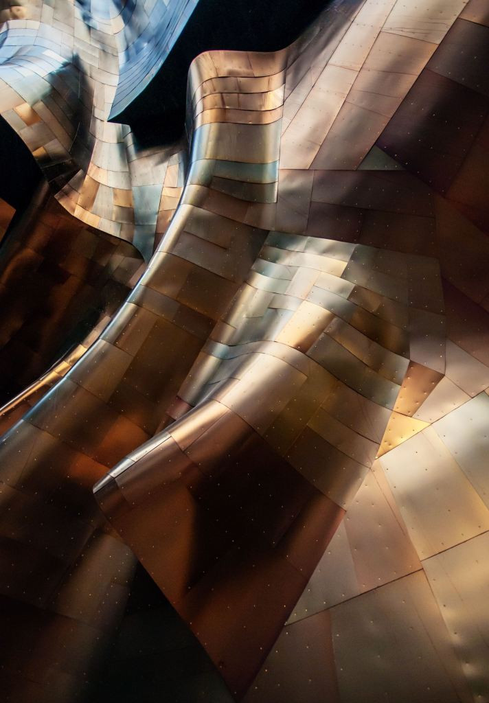 Artistic photo of copper sheets. Samso Insights