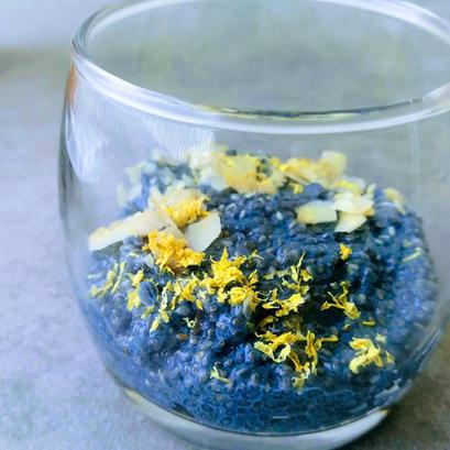 Blue Chia Pudding