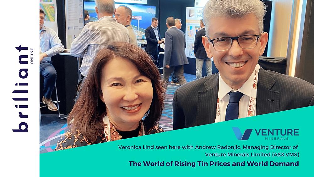 Andrew Radonjic, Venture Minerals with Veronica Lind, Brilliant-Online