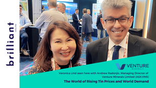 Venture Minerals on the World of Rising Tin Prices and World Demand