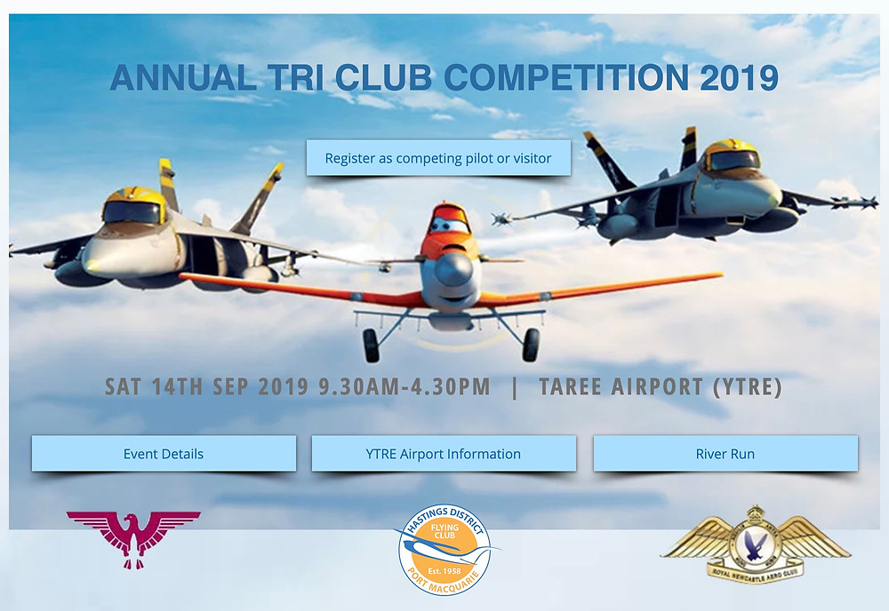 Tri Club Flying Competition 14 Sep 2019