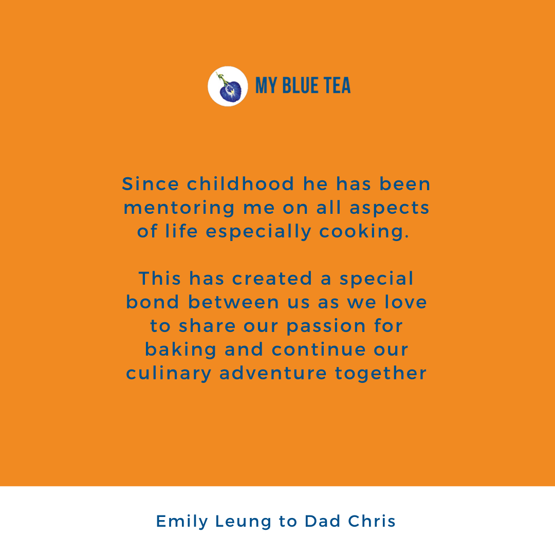 My Blue Tea Father's Day Contest Winner - Emily Leung