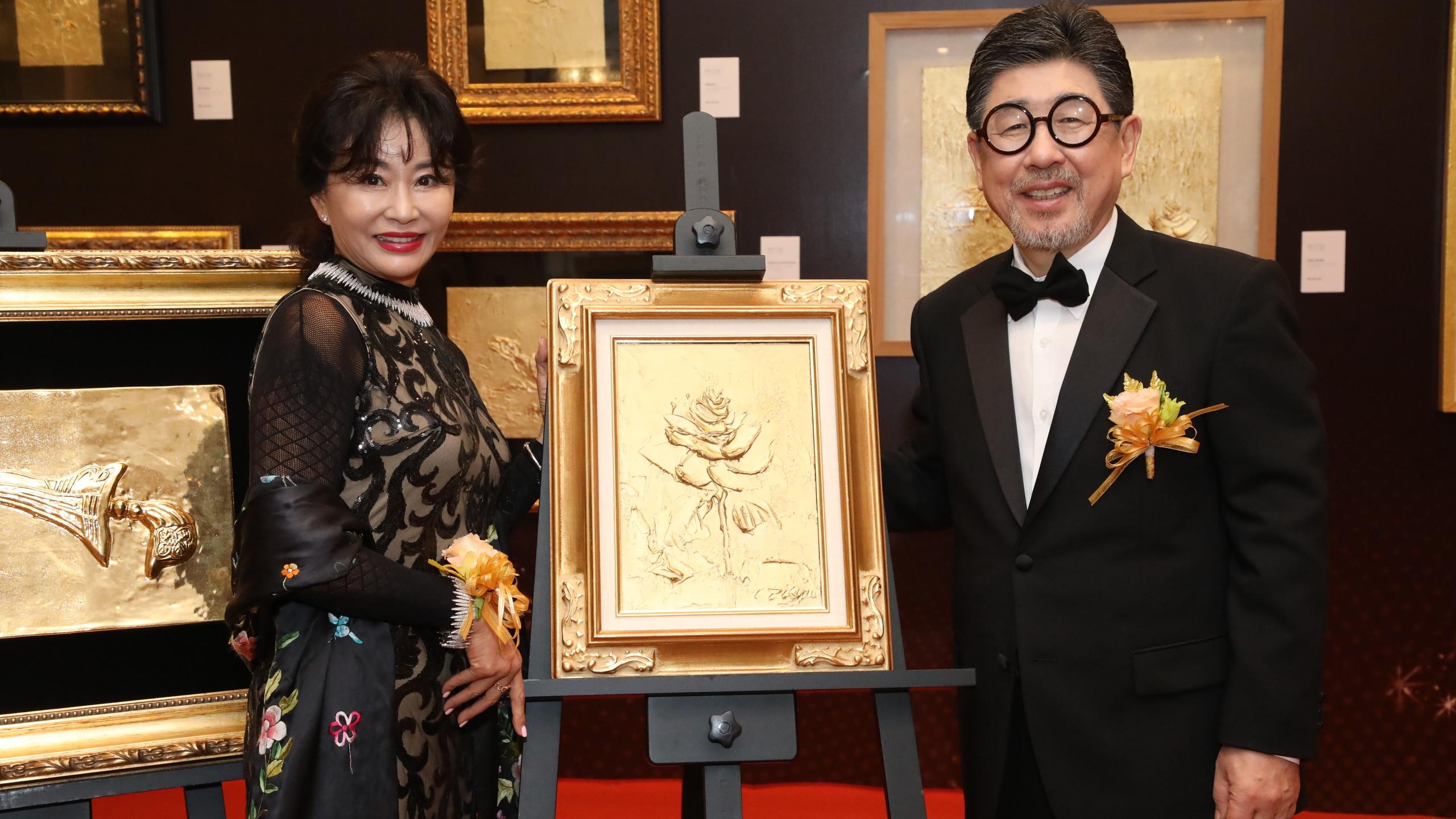 Jin Mi Ryang and Kim Il Tae
