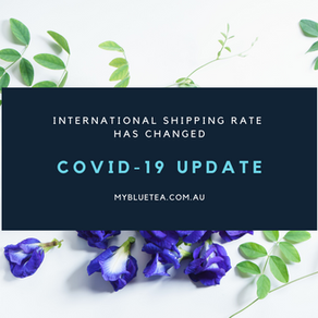 International shipping rates have been revised