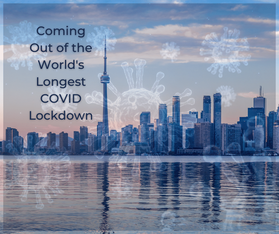 Ontarians reflect on life after a 14-month COVID lockdown, an editorial by Brilliant-Online
