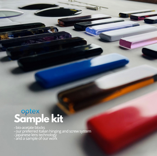 Optex private label sample kit