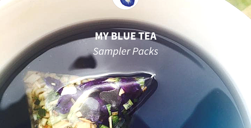 Try out 3 of our teas for just $10 | Blue Tea Sampler Packs | My Blue Tea