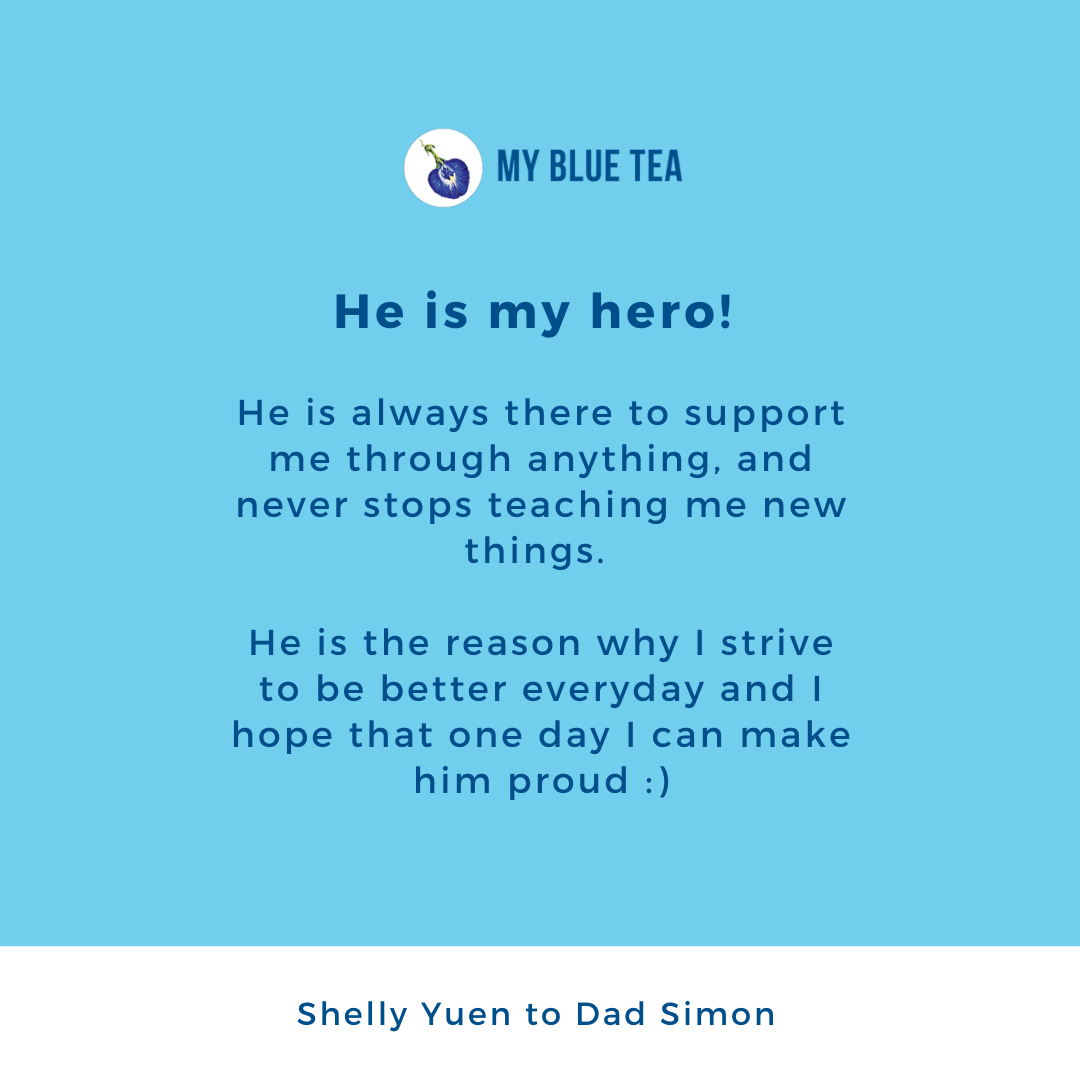 My Blue Tea Father's Day Featured Post - Shelly Yuen