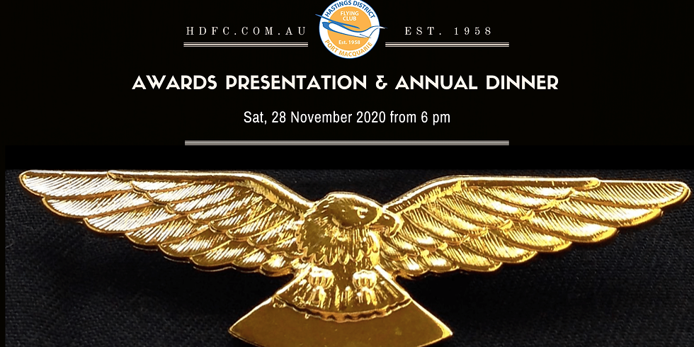 2020 Awards Presentation and Annual Dinner