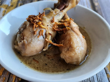 How to Cook Hakka Confinement Chicken by Jackie M