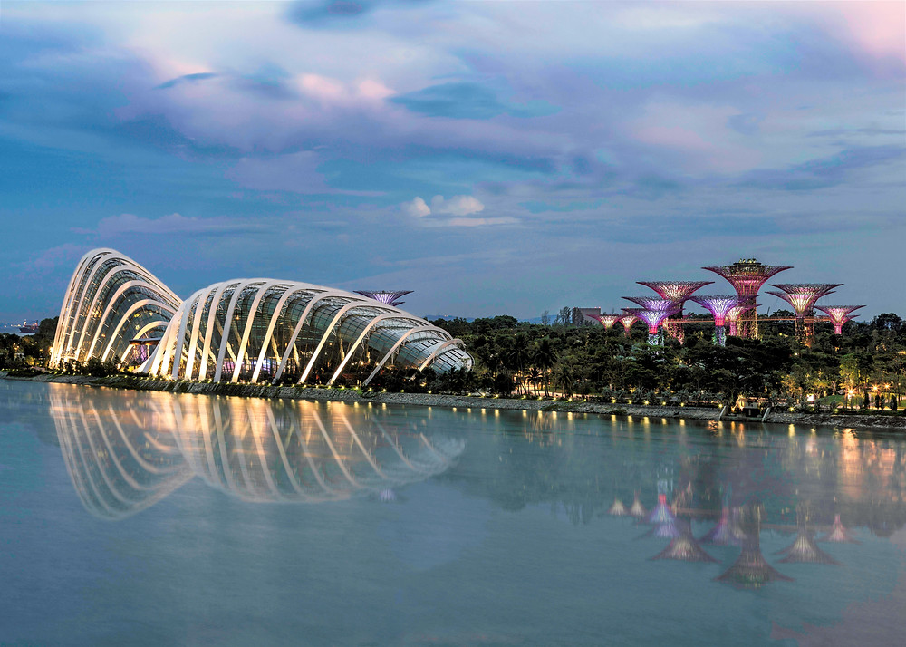 Gardens by the Bay - a new Singapore icon. PM Link Pte Ltd.