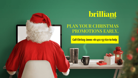 Plan brilliantly for your Christmas promotions