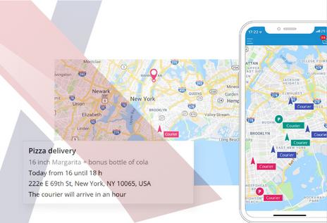 Online delivery tracking & Transparent field operation