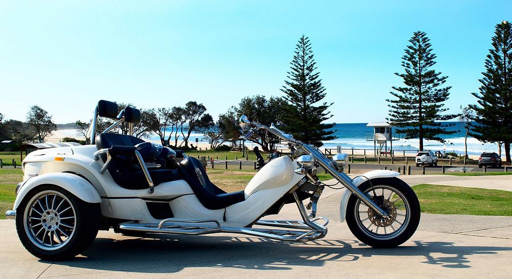 Beach to Bush Trike Tours offers trike tours around the coasts of Port Macquarie